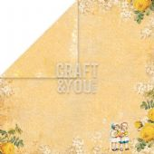 Craft & You 12x12 Scrapbook Paper - Easter Greetings 3 - EG03